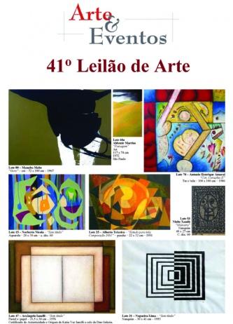 41º LEILÃO DE ARTE