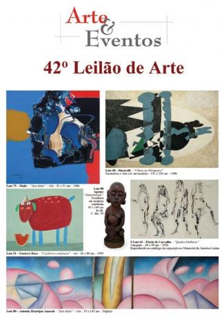 42º LEILÃO DE ARTE