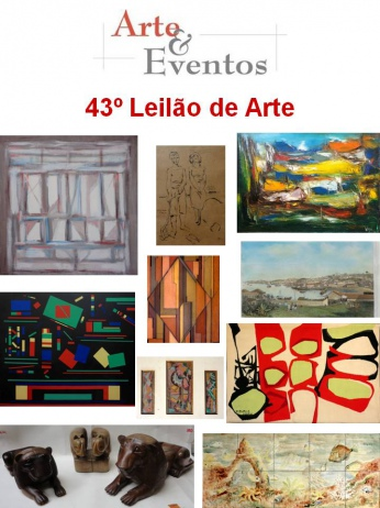 43º Leilão de Arte