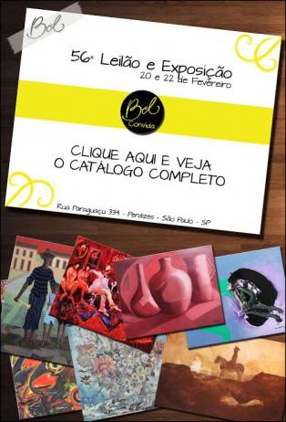56º LEILÃO DE ARTE BEL GALERIA
