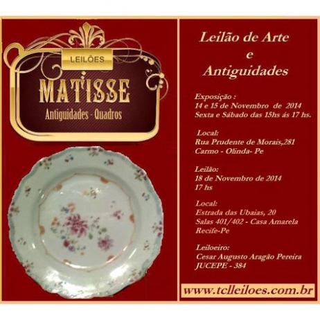 LEILÃO DE ARTE E ANTIGUIDADES - 001/2014