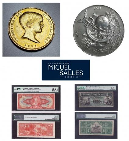 Miguel Salles Escritório de Artes - Leilão de Numismática - 12 a 14/11/2018