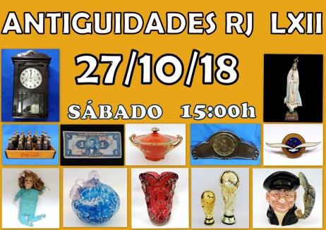 LEILÃO ANTIGUIDADES RJ LXIl