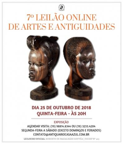 7 LEILÃO DE ARTES E ANTIGUIDADES 25/10/2018