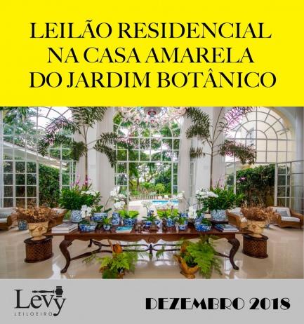 LEILÃO RESIDENCIAL NA CASA AMARELA DO JARDIM BOTÂNICO
