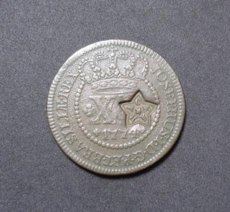 Leilão de moedas escassas e raras