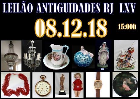 LEILÃO ANTIGUIDADES RJ  LXIII
