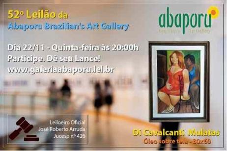 52º Leilão da Abaporu Brazilians Art Gallery