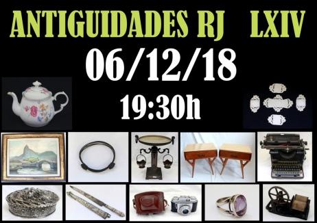 LEILÃO ANTIGUIDADES RJ  LXIV