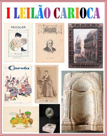 I LEILÃO CARIOCA DE ARTE E COLECIONISMO