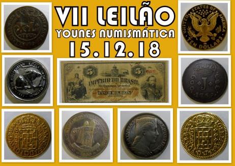 VII LEILÃO YOUNES NUMISMÁTICA