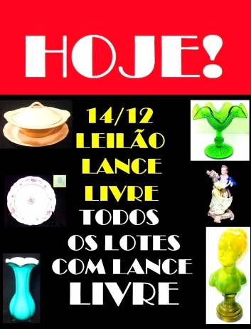 1º LEILÃO LANCE LIVRE - TODOS OS LOTES EM LANCE LIVRE!!!