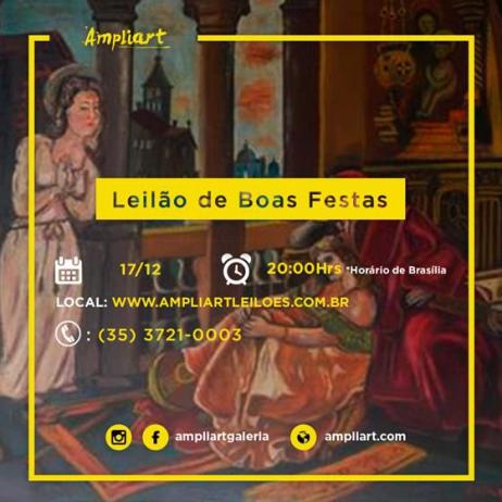 LEILÃO DE BOAS FESTAS