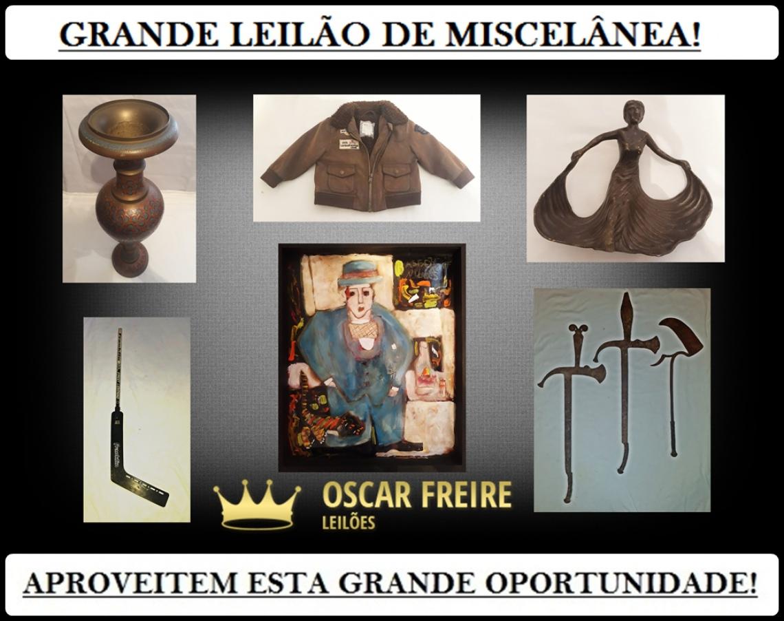 GRANDE LEILÃO DE MISCELÂNEA!