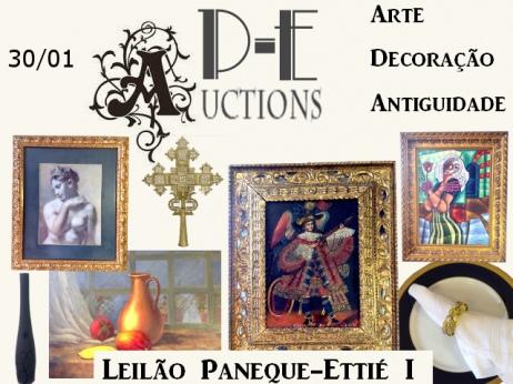 LEILÃO Paneque-Ettié I - ARTE Decoração E Antiguidade