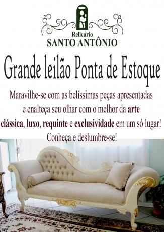 LEILÃO PONTA DE ESTOQUE - RELICÁRIO