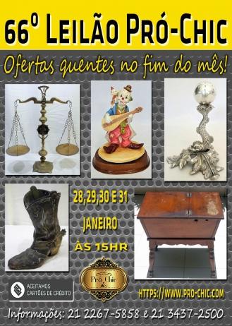 66º Leilão PRÓ CHIC-Ofertas quentes do final do mes!!