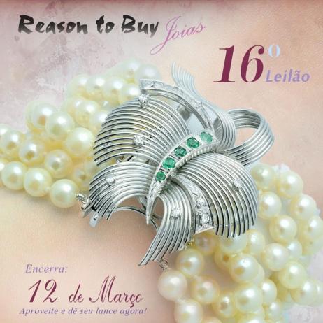 LEILÃO 11034 - 16º Leilão de Joias da Reason to Buy Joalheria