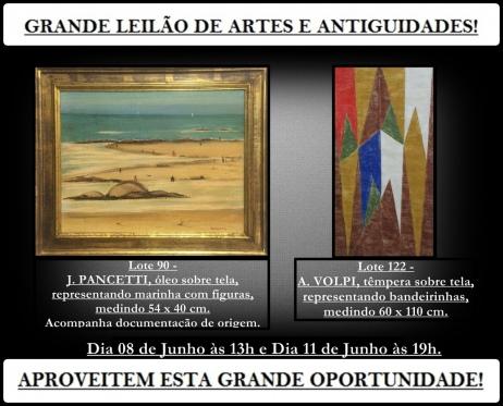 2º GRANDE LEILÃO DE ARTES E ANTIGUIDADES -  GM LEILOES - Levando a arte até você