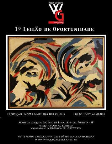 PRIMEIRO LEILÃO DE OPORTUNIDADES, ARTE E ANTIGUIDADES