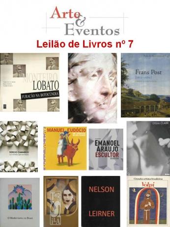 LEILÃO DE LIVROS Nº 7