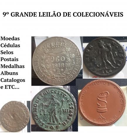 9º LEILÃO DE COLECIONISMO & MILITARIA - COLLECIONE.COM