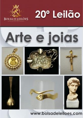 20º LEILÃO DE ARTE E JOIAS