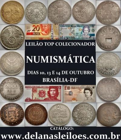 LEILÃO DE ARTE, ANTIGUIDADES, DECORAÇÃO, COLECIONISMO, JOIAS E NUMISMATICA
