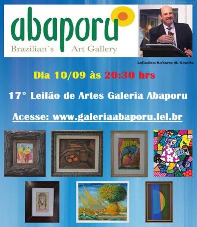 17 LEILÃO DA GALERIA ABAPORU