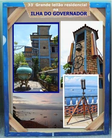 33º GRANDE LEILÃO RESIDENCIAL NA ILHA DO GOVERNADOR - RIO DE JANEIRO-  PARTE I