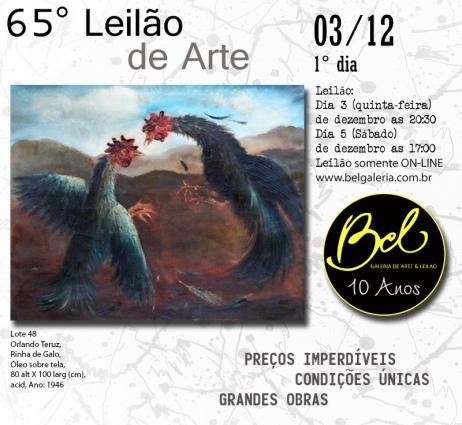 65º Leilão de Arte - BEL GALERIA