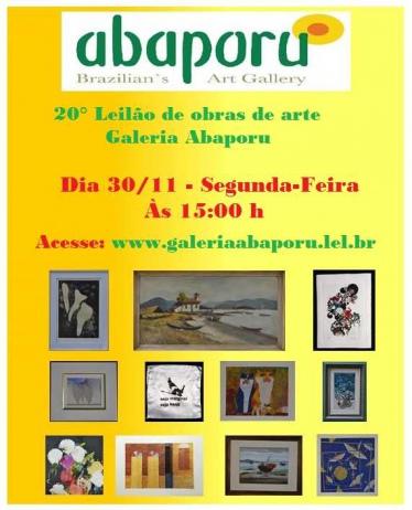 20º Leilão da Galeria Abaporu