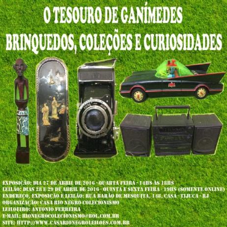 O TESOURO DE GANÍMEDES - BRINQUEDOS, COLEÇÕES E CURIOSIDADES