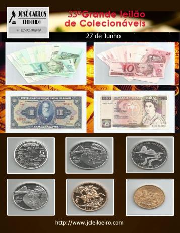 33º GRANDE LEILÃO DE COLECIONÁVEIS