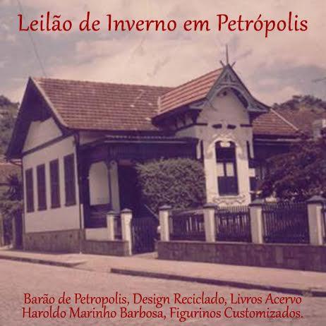 LEILÃO DE INVERNO EM PETRÓPOLIS