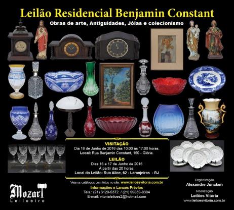 Leilão Residencial Benjamin Constant
