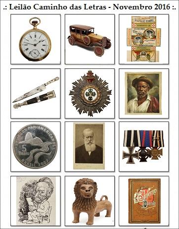 24º Leilão de Colecionismo CAMINHO DAS LETRAS