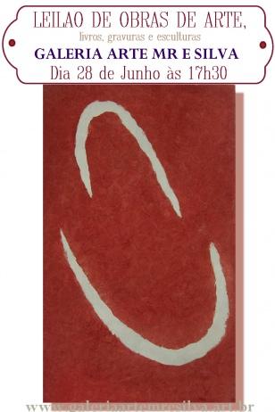 LEILÃO DE OBRAS DE ARTE - LIVROS, GRAVURAS E ESCULTURAS TEL: (11) 2051-7192