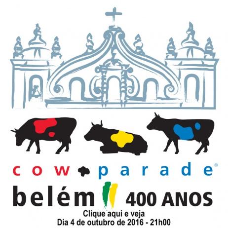 Cow Parade Belém 400 Anos - Leilão Beneficente - 04/10/2016