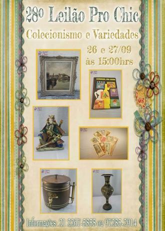 28º Leilao Pro Chic - Colecionismo e Variedades