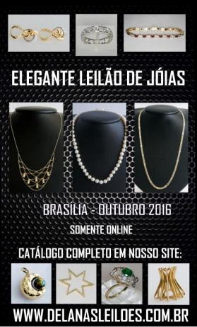 LEILÃO DE JÓIAS, COLECIONISMO & NUMISMÁTICA | DELANAS - BRASÍLIA-DF