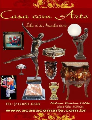LEILÃO CASA COM ARTE