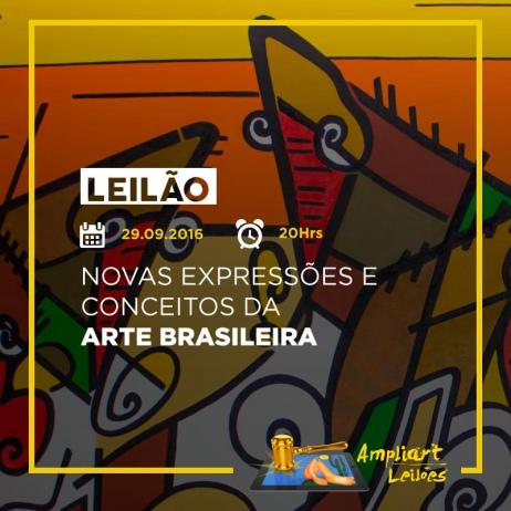 NOVAS EXPRESSÕES E CONCEITOS DA ARTE BRASILEIRA