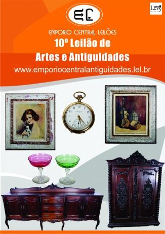 LEILÃO RESIDENCIAL EMPORIO CENTRAL  ANTIGUIDADES E LEILÕES