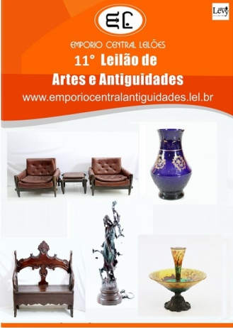 11 LEILÃO  EMPORIO CENTRAL  ANTIGUIDADES E LEILÕES