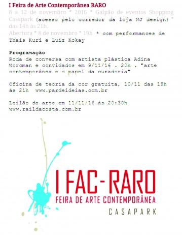 LEILÃO RARO-FAC