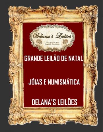 GRANDE LEILÃO NATAL JÓIAS & NUMISMÁTICA