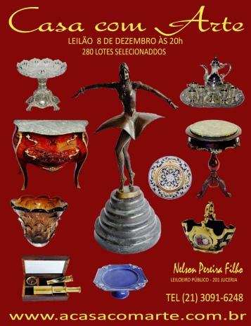 LEILÃO CASA COM ARTE - DEZEMBRO 2016