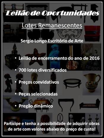 LEILÃO DE OPORTUNIDADES - LOTES REMANESCENTES