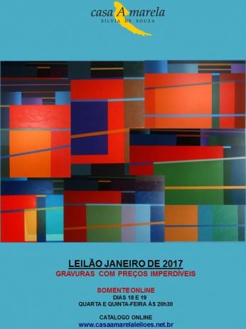 LEILÃO DE ARTE, JOIAS E ANTIGUIDADES - BRASÍLIA/DF